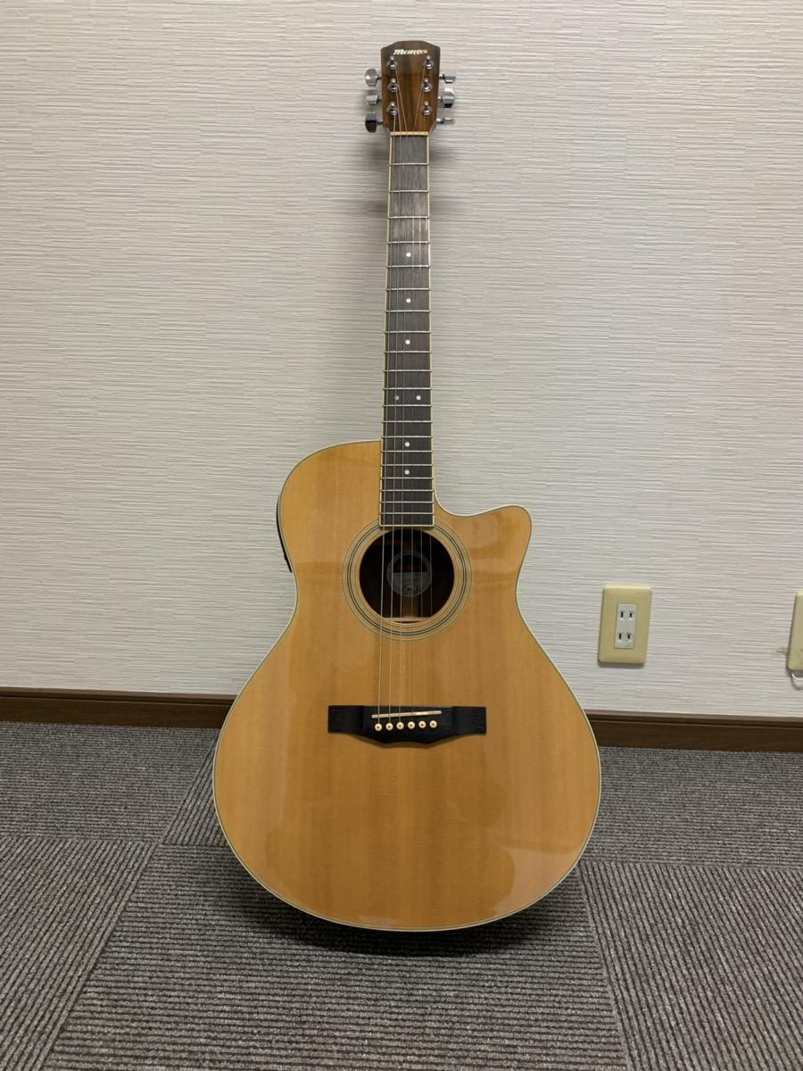 モーリスのアコースティックギターを高価買取