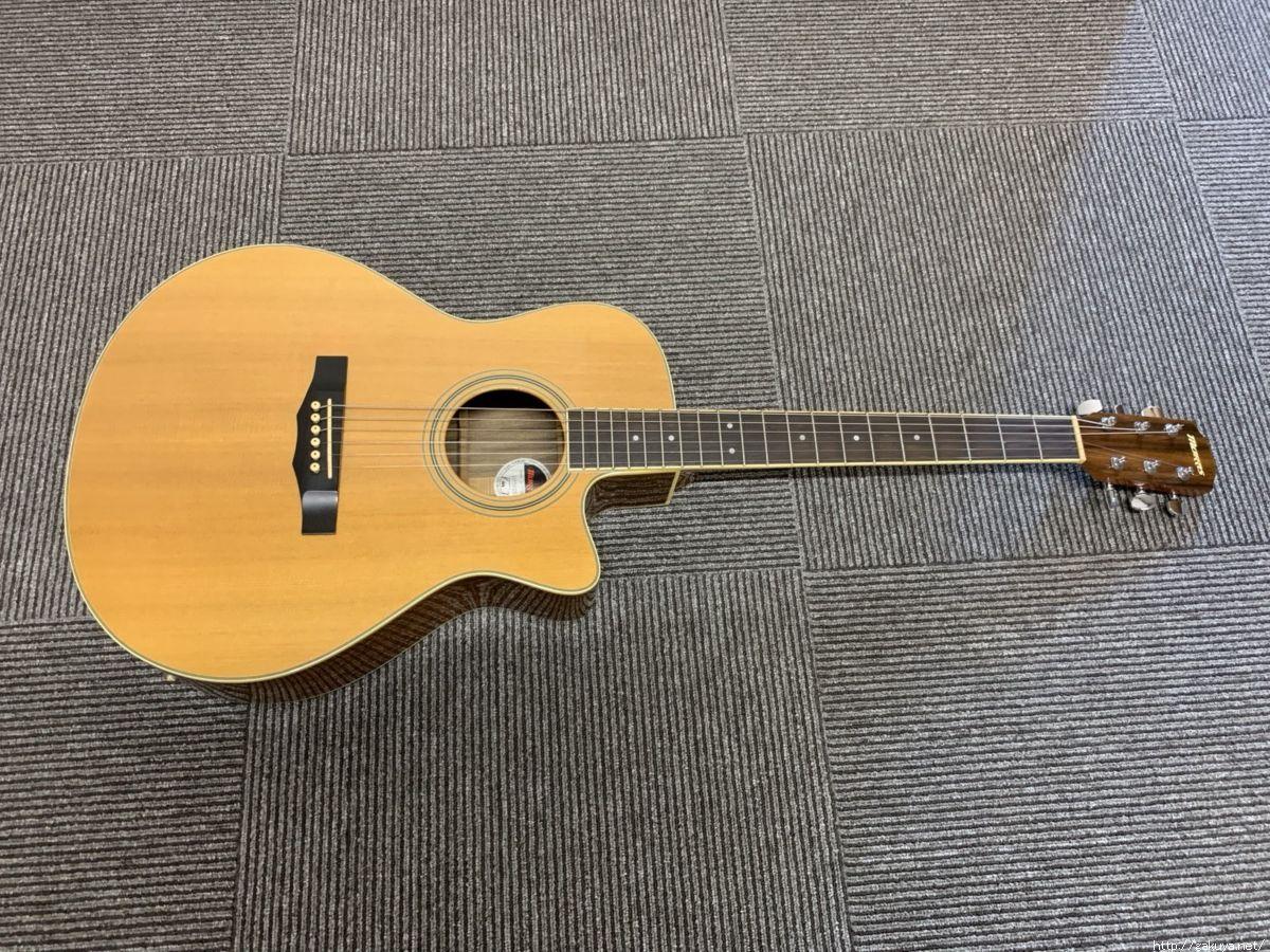 モーリスのアコースティックギターも高価買取