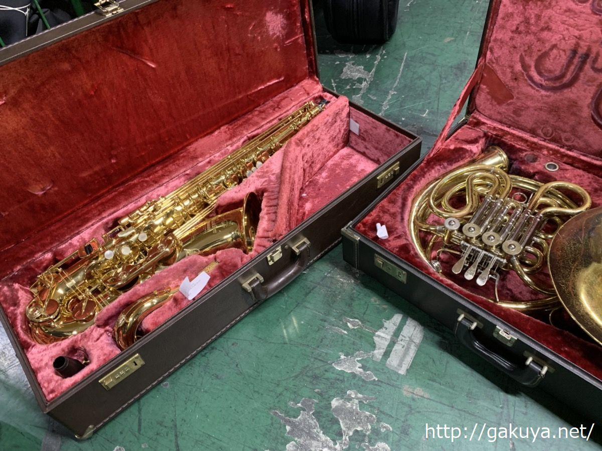 楽器の買取屋さんの管楽器