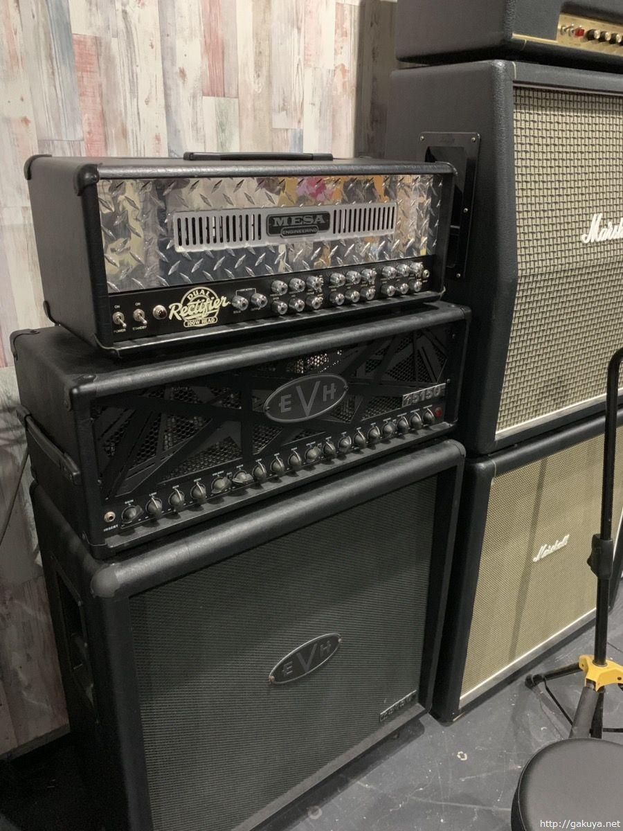 買取可能なギターアンプ(MESA BOOGIE、EVH5150)